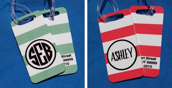 Personalized Luggage Tags Jane