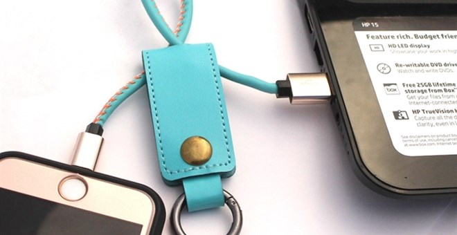 Leather Keyfob And Phone Charger Iphone Amp Android Jane