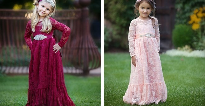 Sweetheart Holiday Long Lace Dress