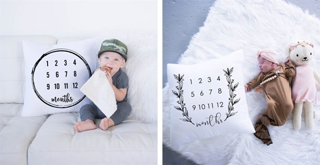 Milestone Pillow Cases