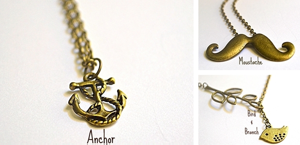 Assorted Charm Necklaces!