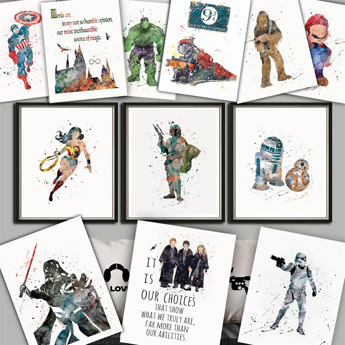 Jane: Epic Character Inspired Prints Only $3.27