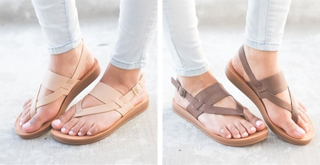 Was $39.99 - Now $18.99 - Slingback Comfy Insole Sandals (3/1 to 3/3)