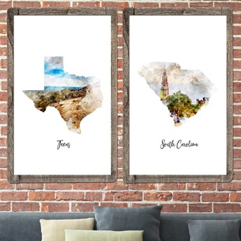 Watercolor map posters 24x36 free shipping jane watercolor map posters 24x36 free shipping gumiabroncs Image collections