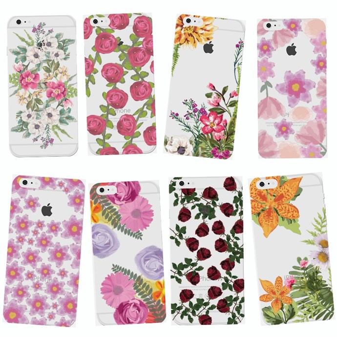 Tropical Flower Soft iPhone Case Only $3.99