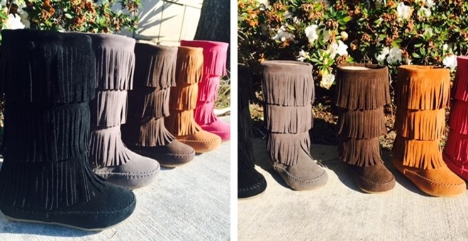 Toddlers & Girls Fringe Boots! | Jane