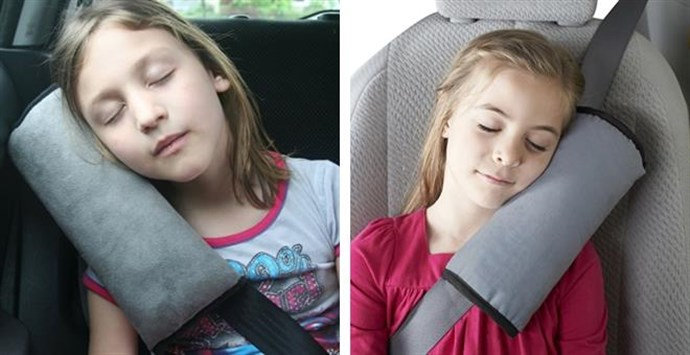 Adjustable Seatbelt Shoulder Pillow