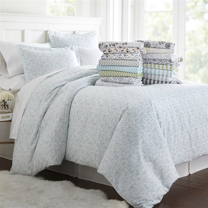 1800 Series Ultra Soft 3 Piece Printed Duvet Cover Set Only $22.99