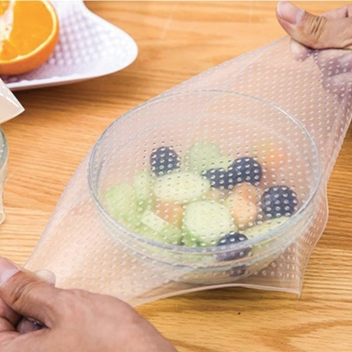 Reusable Silicone Food Covers / 4 Pack Only $7.99