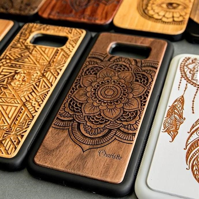 Jane: Personalized Wooden Cases / Artistic Collection Only $8.99