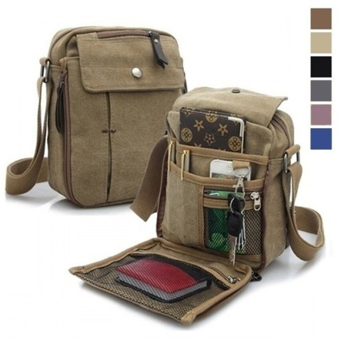 Multifunctional Canvas Traveling Bag Only $9.99