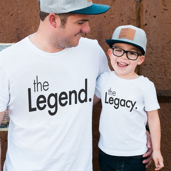 Matching Daddy & Me Shirts Only $12.99 **Father's Day Gift Idea**