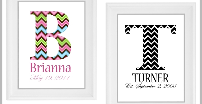 Personalized Monogram Home Decor Jane
