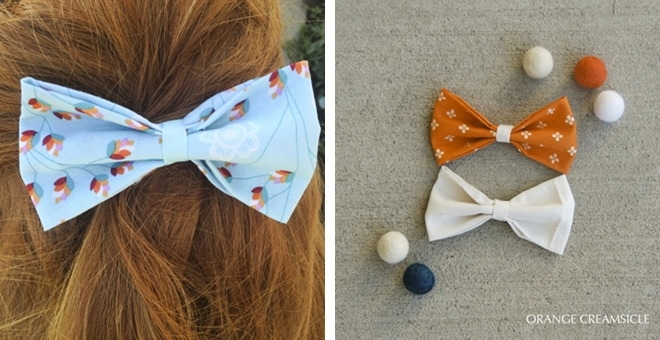 Set of 2 Stunning Hair Bows – Choose your style!