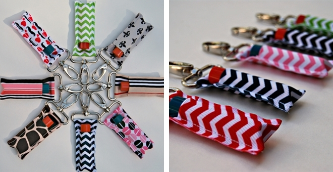 Clip-On Lip Balm Holders - 20 Patterns! | Jane