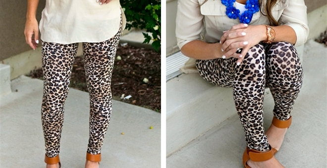 They are BACK Leopard Leggings!