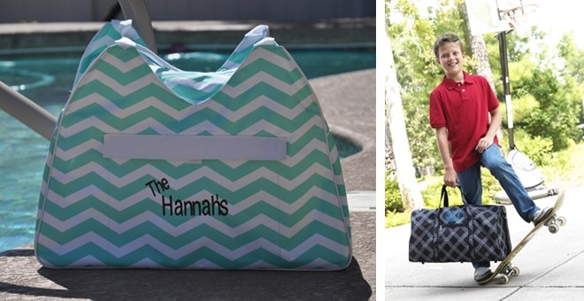 Personalized Beach Bag and Duffle Bag Blowout Sale | Jane