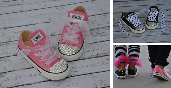 Kids Bling Shoes