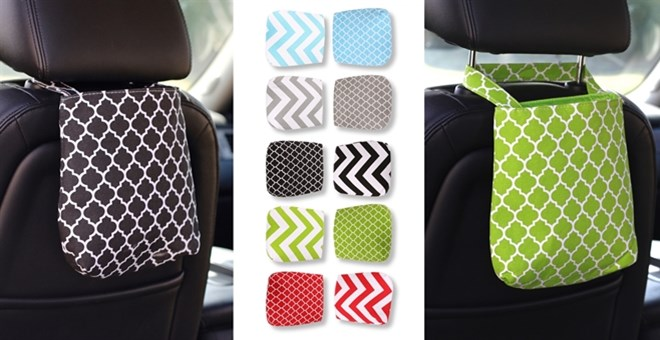 Reusable Car Trash Bag Organizer