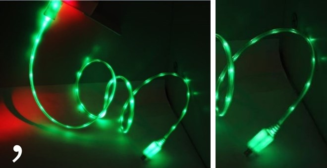Led Iphone Cable
