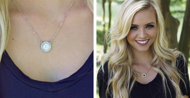 Perfect Initial Necklace