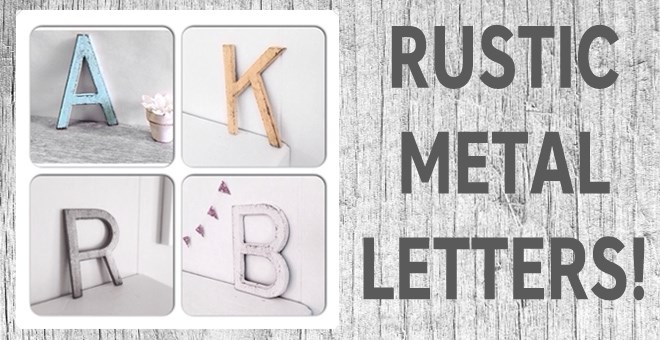 Iron On Letters