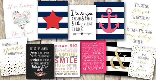 Modern Home Decor Prints - FAST SHIP Jane
