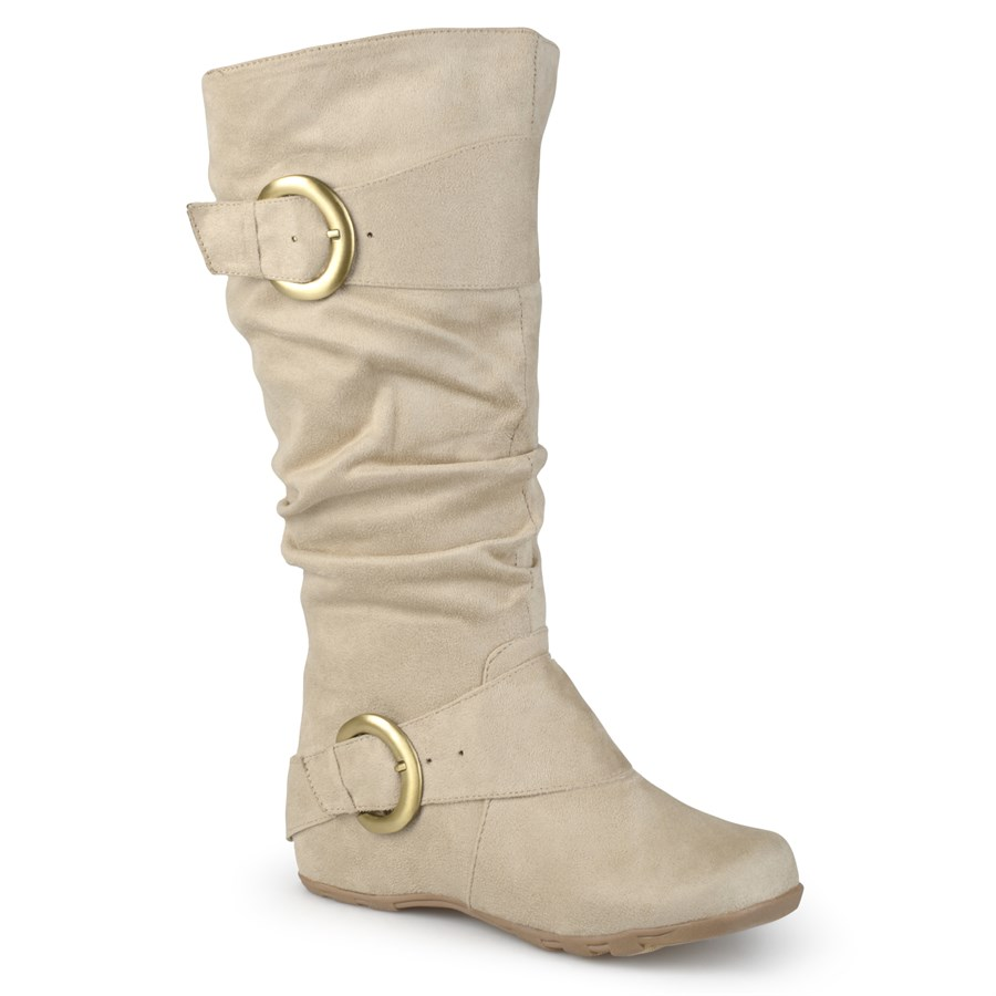 slouch microsuede boots wide calf option