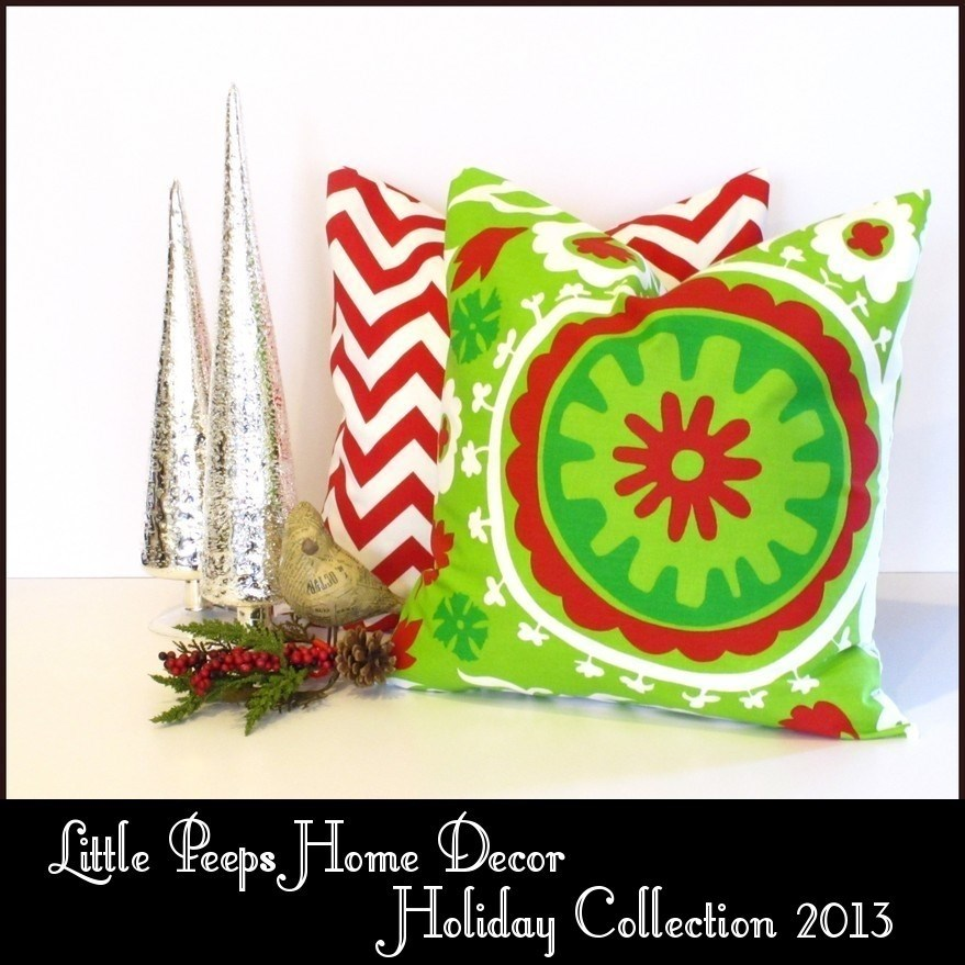 Modern Holiday Pillow Covers Jane
