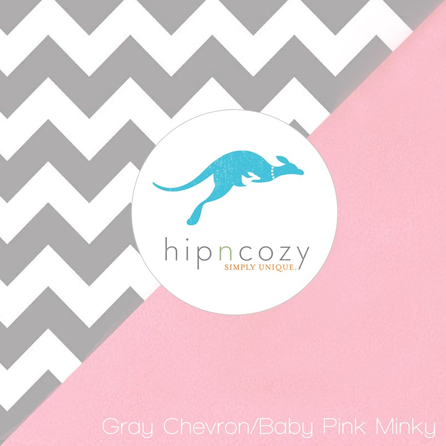 Gray Chevron Toddler Car Seat Covers