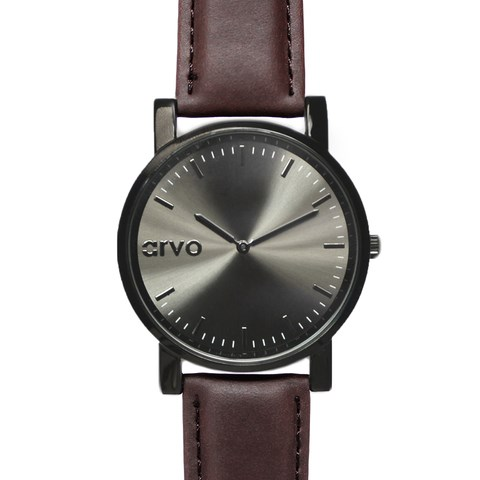 leather band arvo watches