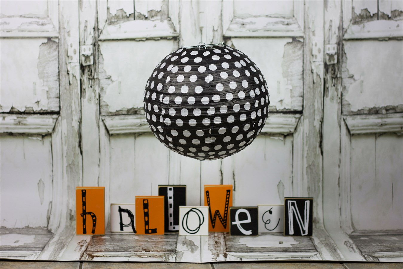 festive halloween paper lanterns with led lights jane. Black Bedroom Furniture Sets. Home Design Ideas