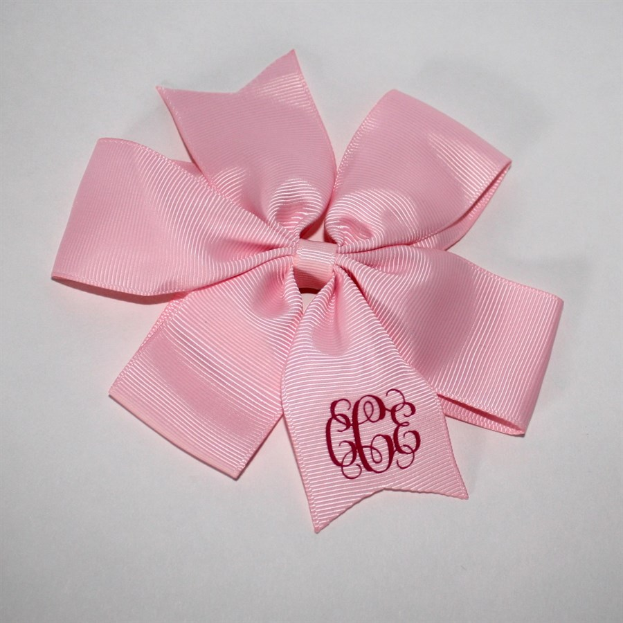 different hair bow styles personalized hair bows 4 different styles 3102