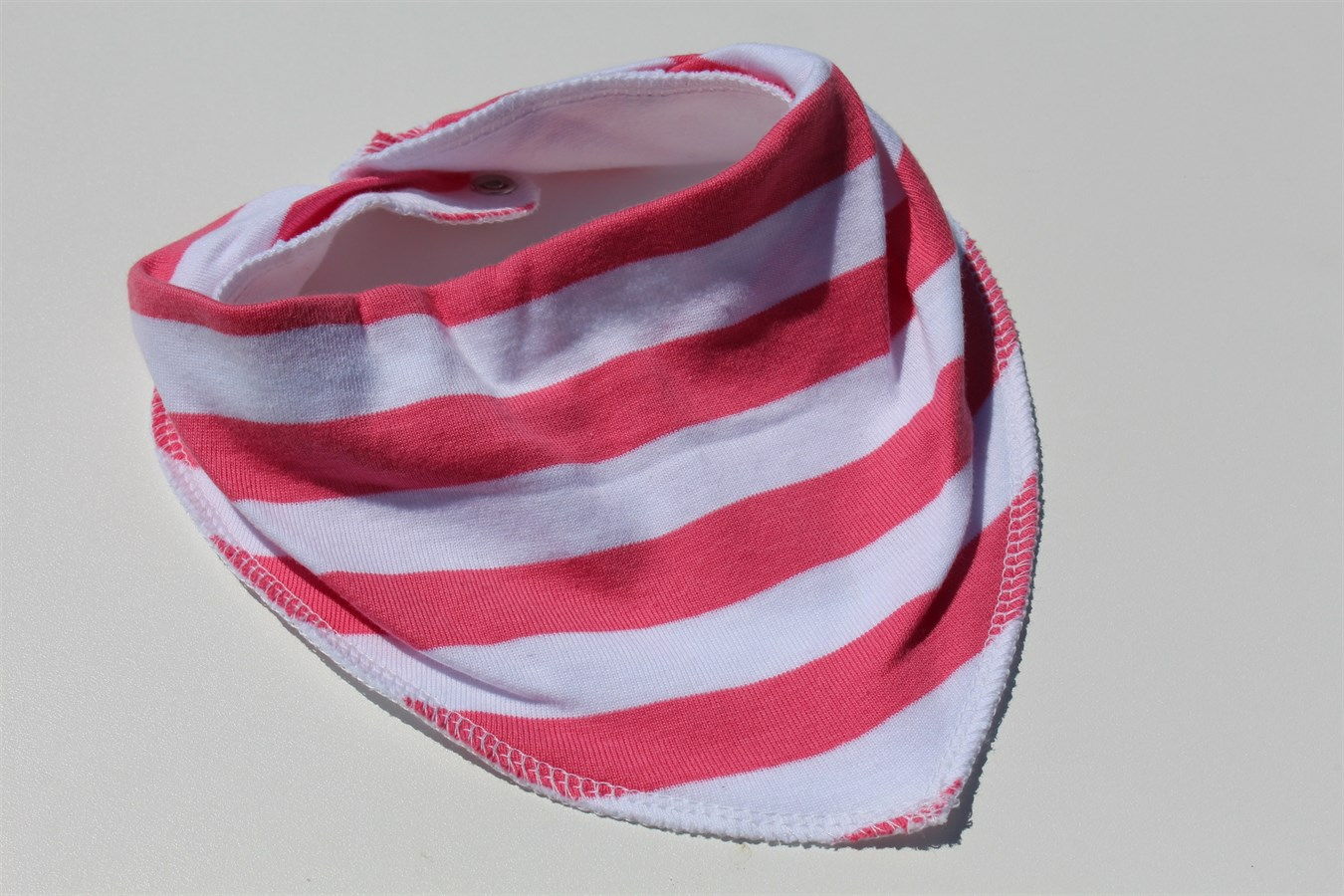 how to make dribble bandana bibs