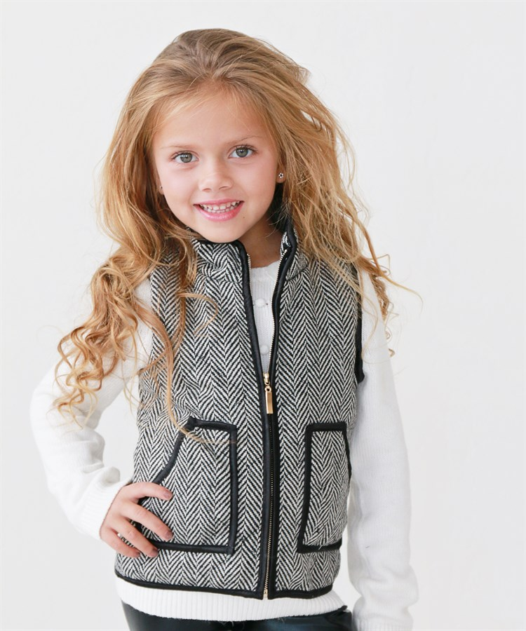 stylish little girl vests 2 styles jane