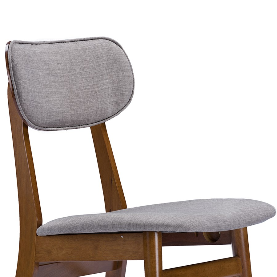 Free Shipping Mid Century Fabric Dining Chair Jane