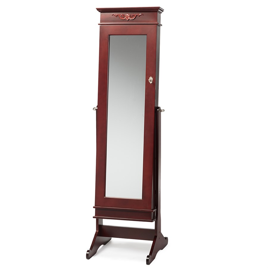 free shipping full length mirror jewelry armoire jane. Black Bedroom Furniture Sets. Home Design Ideas