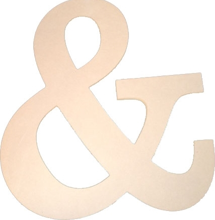 Trendy ampersand decor jane for Ampersand decor