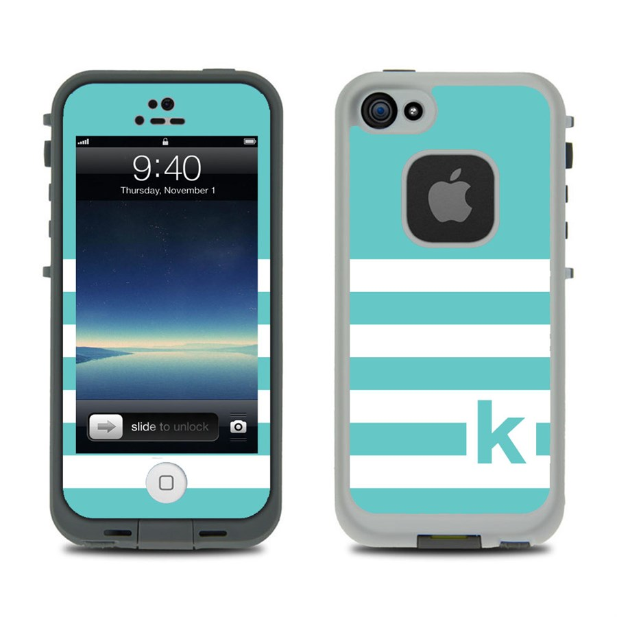 monogrammed skin for lifeproof fre case