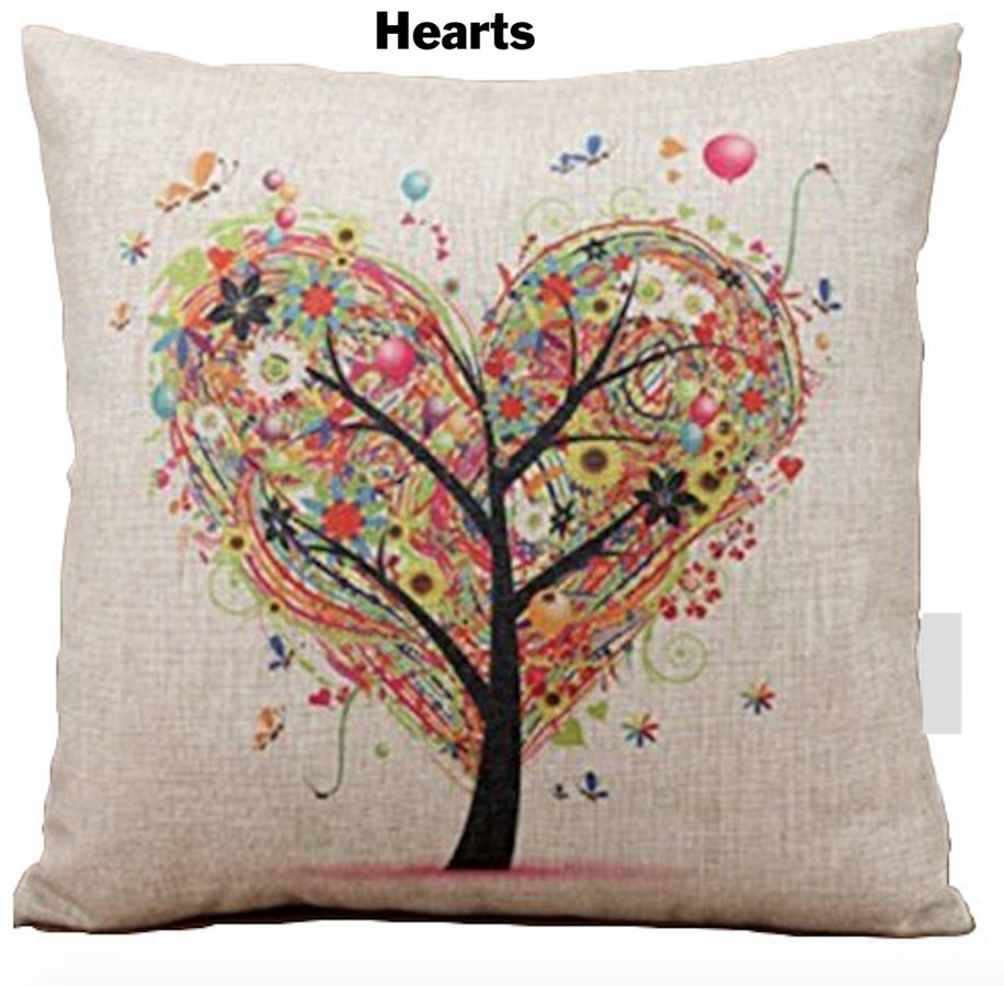 Throw Pillow Covers Jane