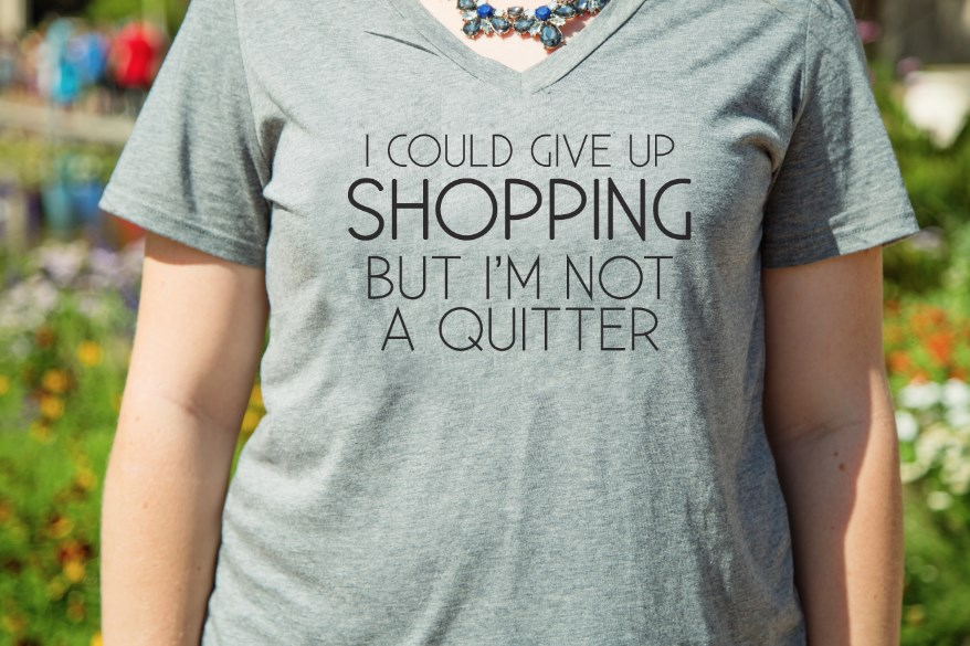Shopping Inspired Graphic Tees