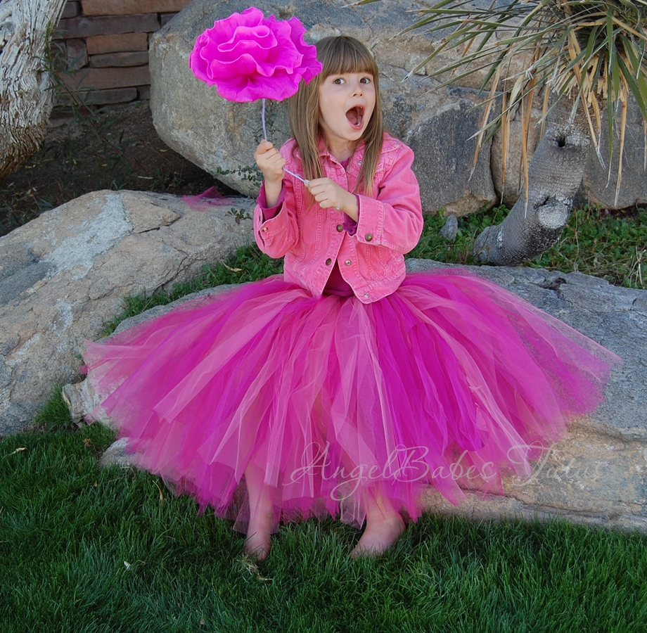 how to make a no sew bustle tutu
