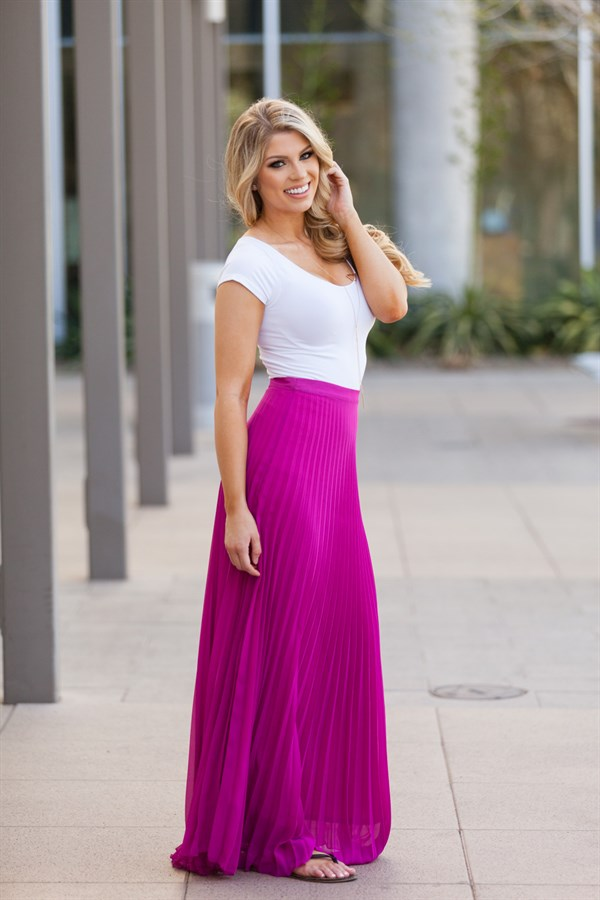 Chiffon Maxi Skirt Fully Lined | 4 Colors | Jane