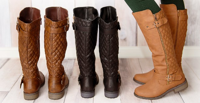 Favorite Quilted-Back Riding Boots! | Jane