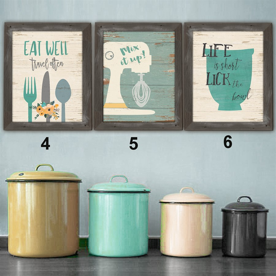 Rustic lovin 39 kitchen prints 8x10 jane for Kitchen design 8x10