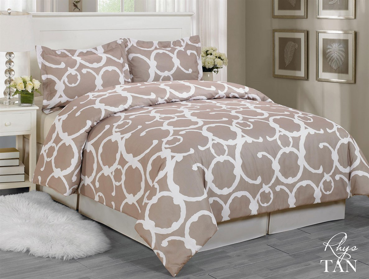 Trendy 3 Piece Duvet Cover Sets Jane