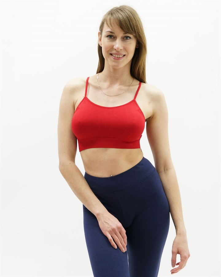 This jersey-knit camisole is crafted in a premium blend of organic pima cotton and sustainable TENCEL, with a touch of shape-retaining spandex. Detailed with slim straps and flattering ruching along the neckline. Relaxed fit. Slim straps. Hip length. Organic pima cotton/TENCEL lyocell/spandex. Made in .