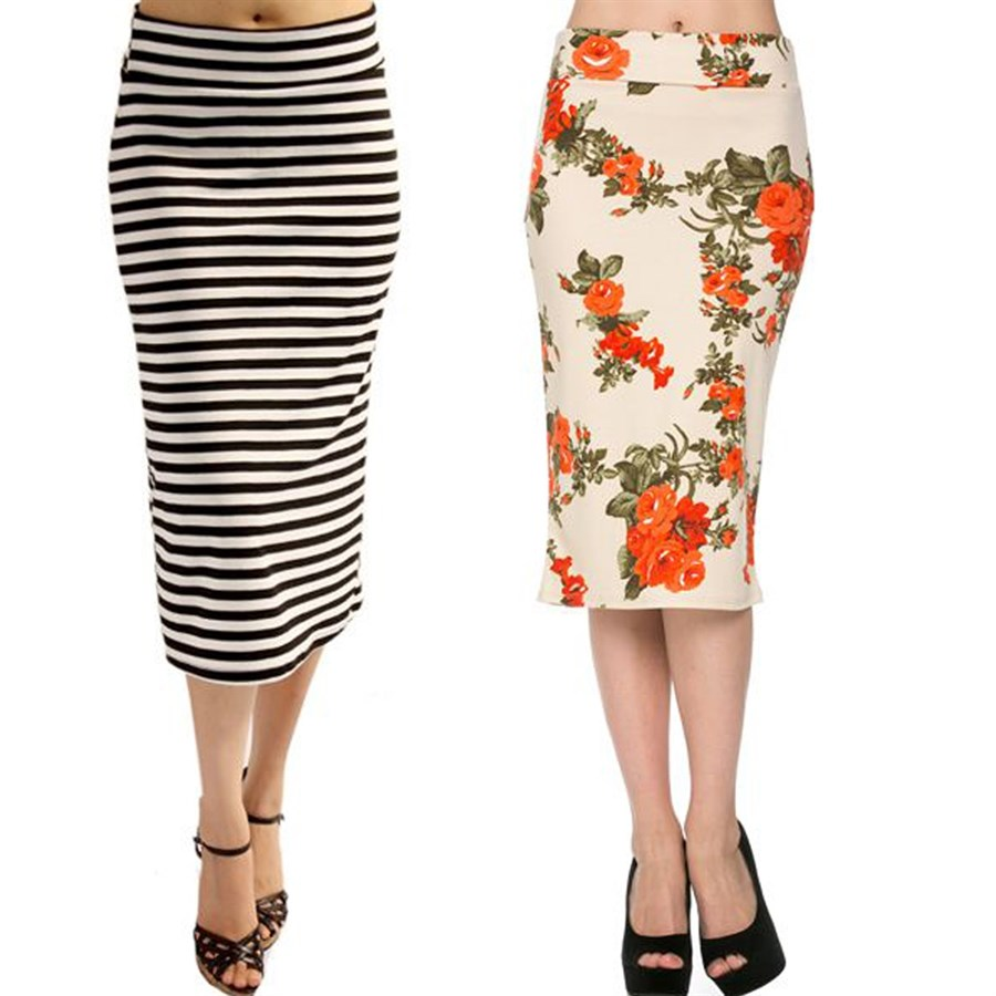 below the knee pencil skirts up to xl