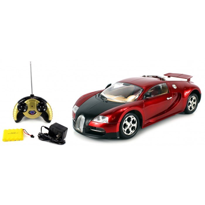 super sport bugatti veyron electric rc car 1 14 rtr colors may vary jane. Black Bedroom Furniture Sets. Home Design Ideas