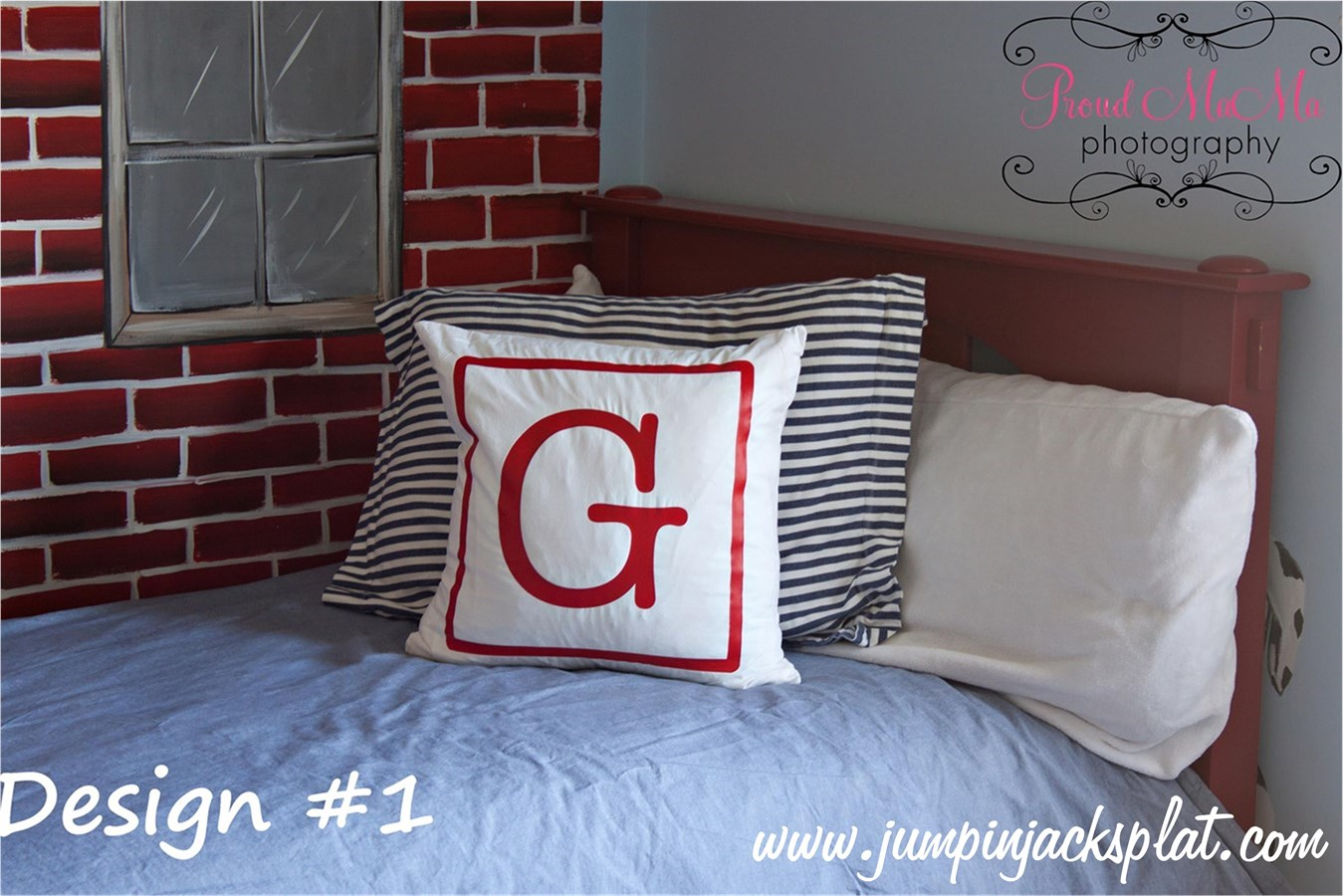 Modern Initial Pillow : Modern Personalized Pillows Covers Jane